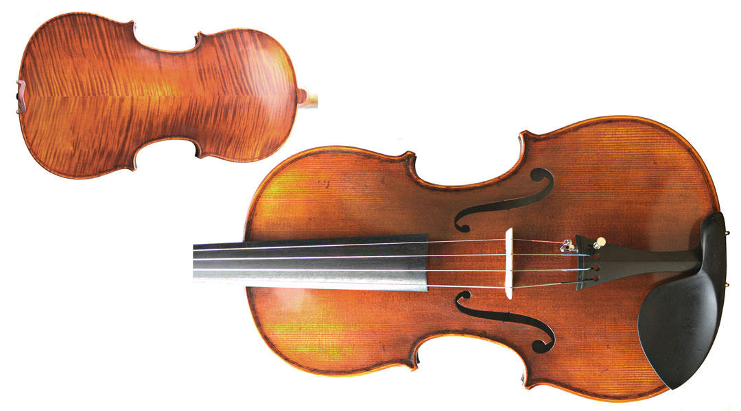 Concertante Antiqued Viola