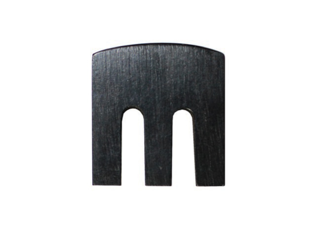 wooden flat mute