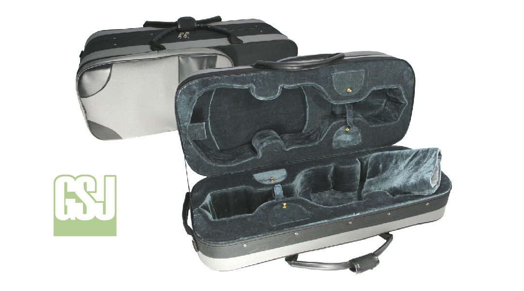 GSJ Double Violin Case
