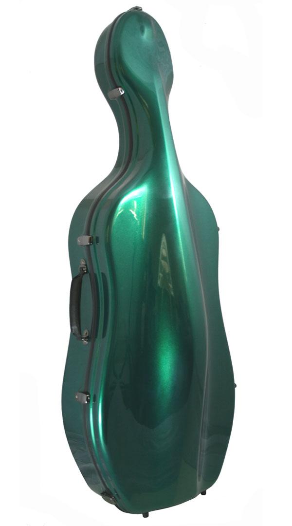 K2 Green Cello Case