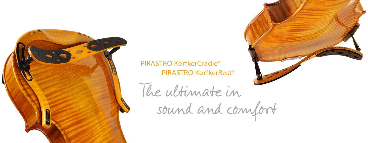Korfker Shoulder Rest by Pirastro Strings