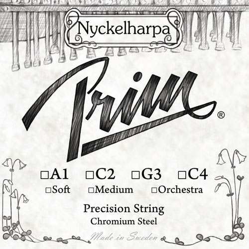 Nickelharpa Strings