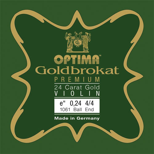 Optima Goldbrokat strings