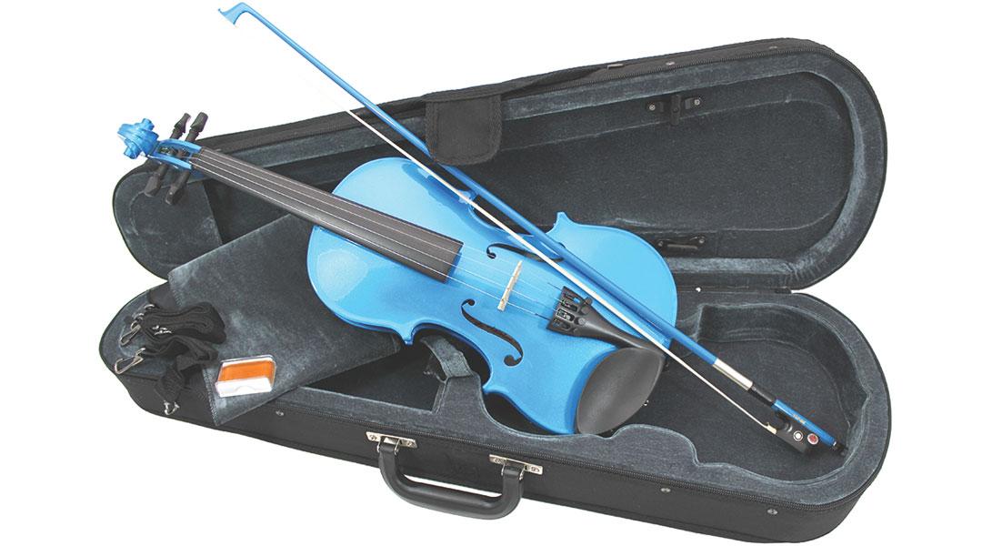 Primavera Rainbow Blue Violin