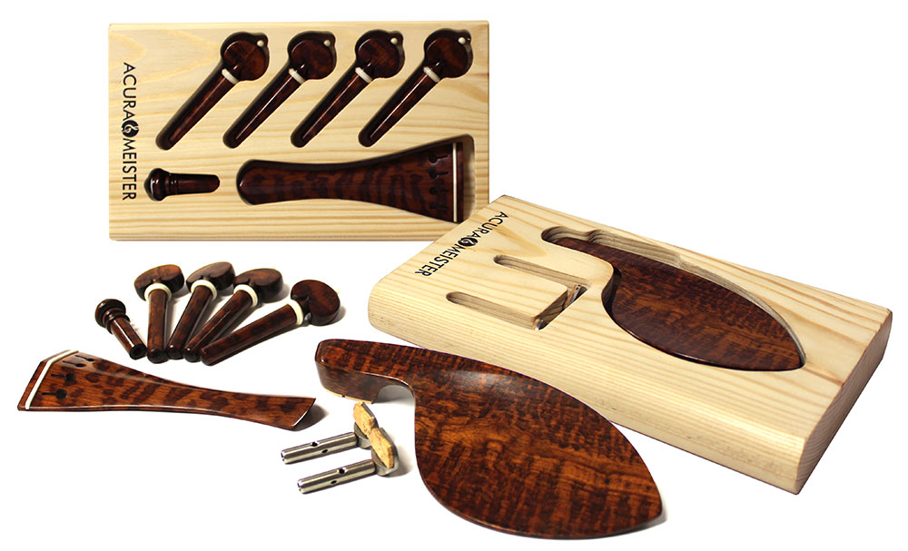 Acurameister Snakewood Fittings Set