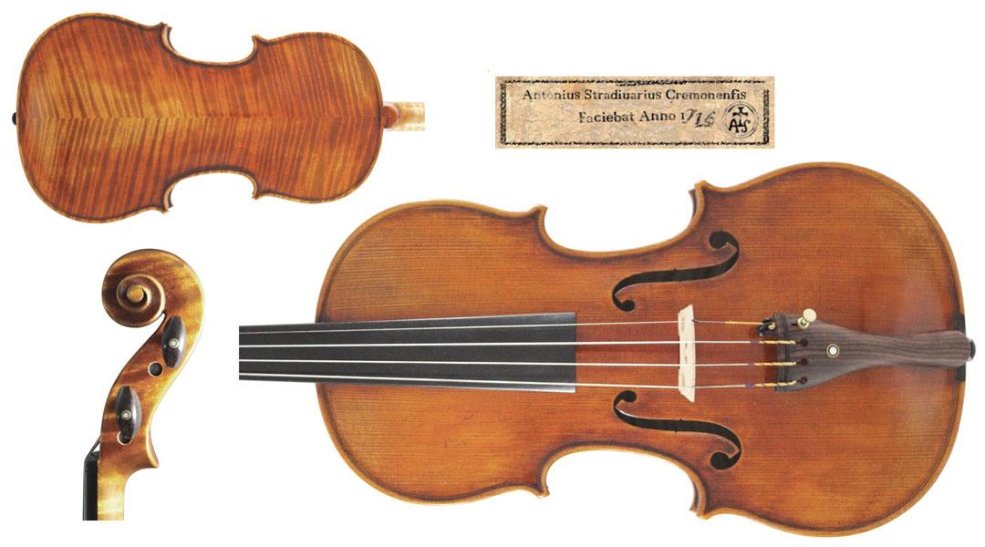 Stradivarius Violin The Cessol