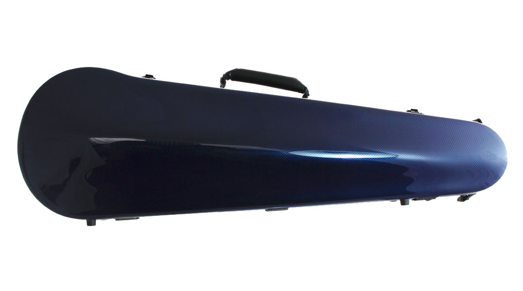 Orchestra Carbon Fibre Violin Case Blue