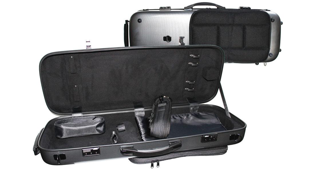 AC160 Silver Weave PC Viola Case
