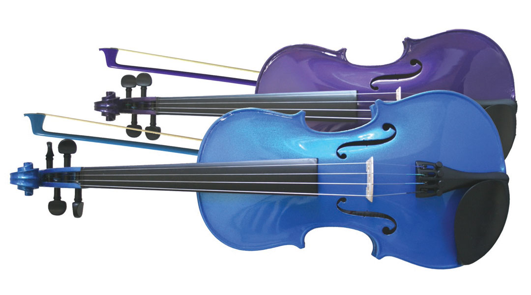 Primavera Rainbow Violins Blue & Purple