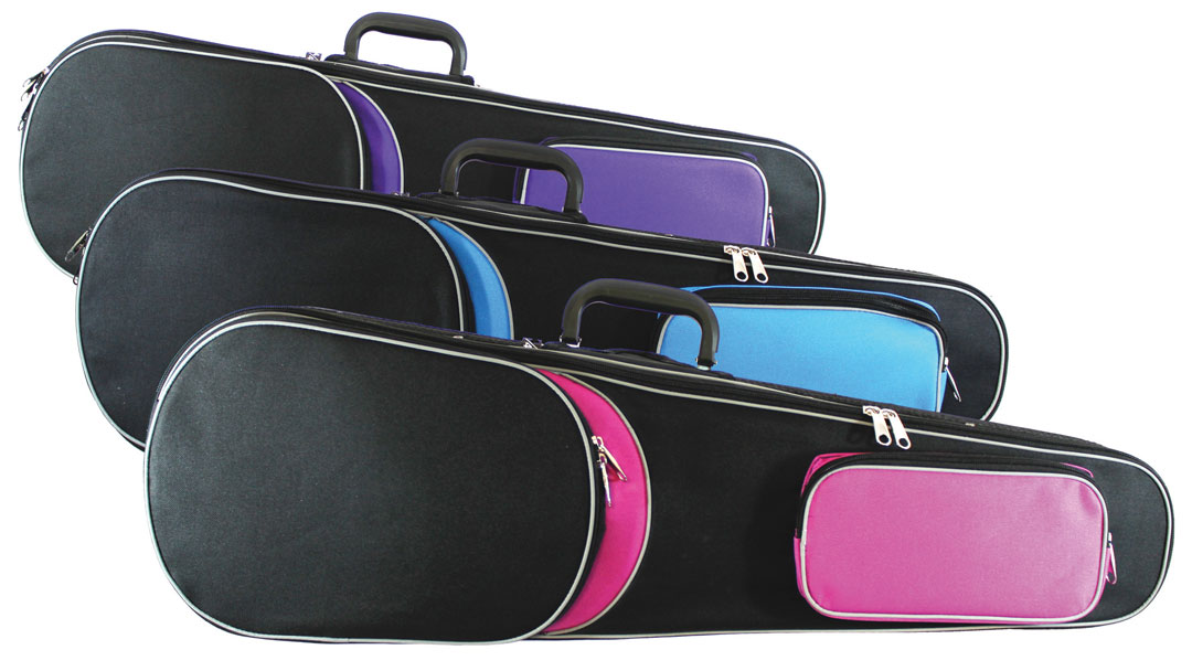 VC004 Primavera Rainbow Violin Cases