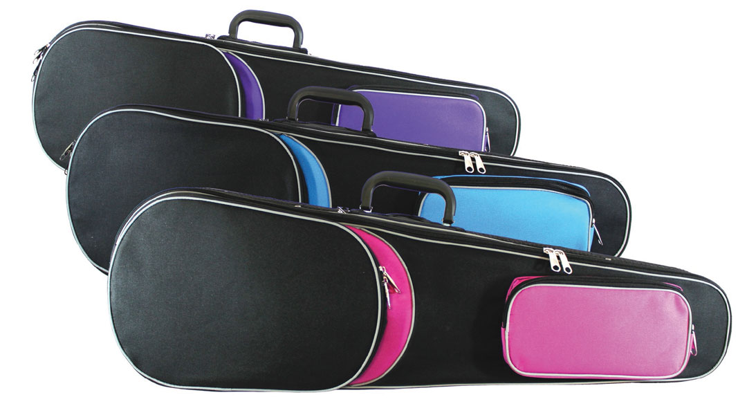 Primavera Rainbow Violin Case Front