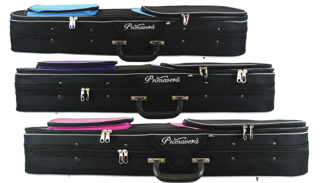 Primavera Rainbow Violin Case Side
