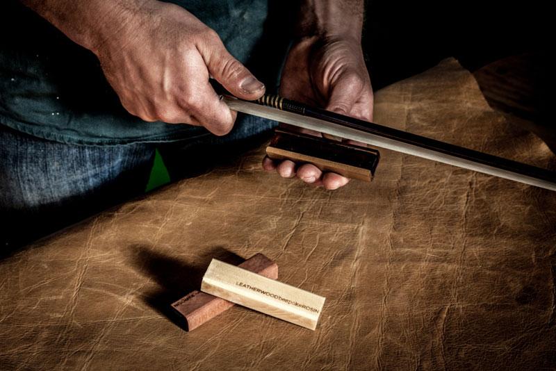 Leatherwood Rosin Application