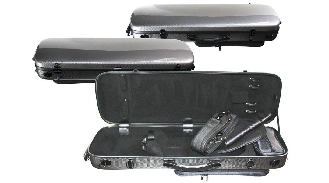 VC160 Silver Weave PC Violin Case