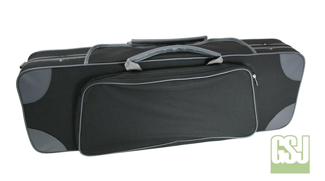VC175 GSJ Oblong Violin Case Closed