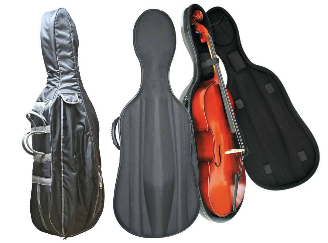 cello and bass bags and semi-rigid cases