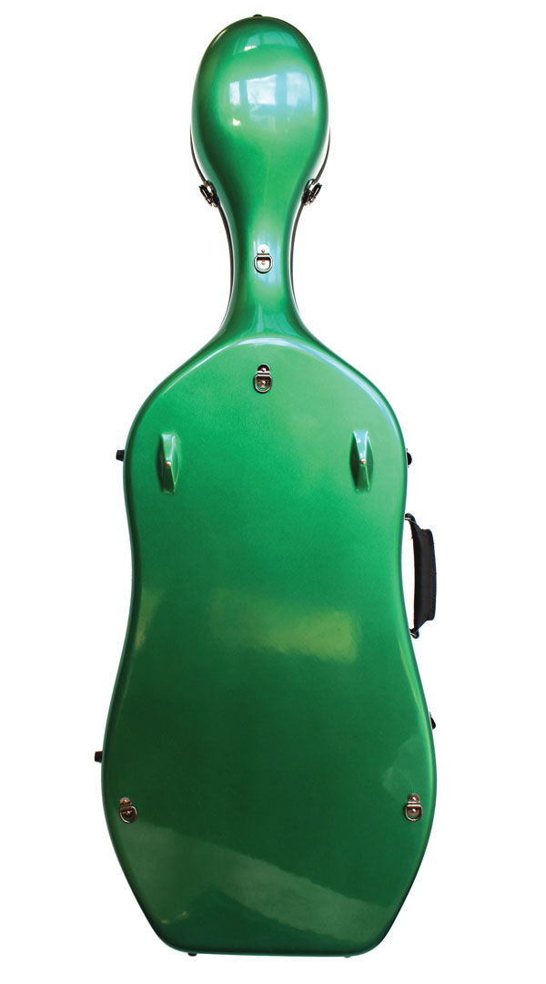 K2 Green Cello Case