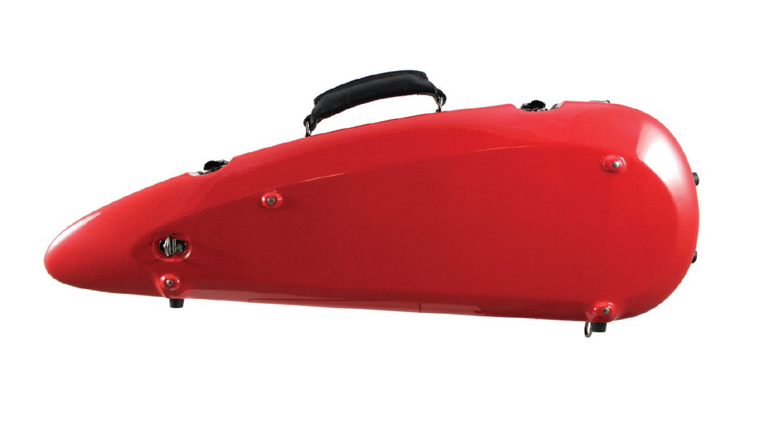 Sinfonica Violin Case Red Back