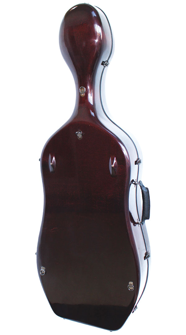 K3 Red Weave Cello Case