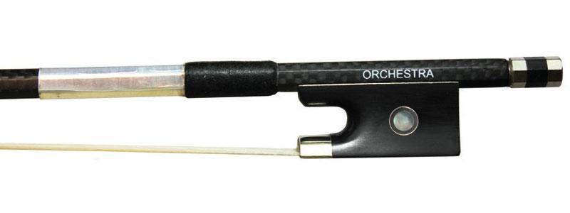Orchestra Carbon Fibre Weave Violin VB018 Frog