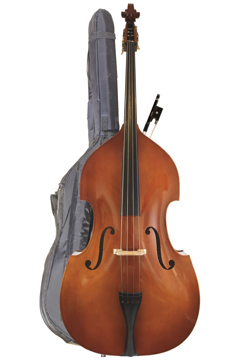 Westbury Bass Bag with Bass (instrument for illustration)