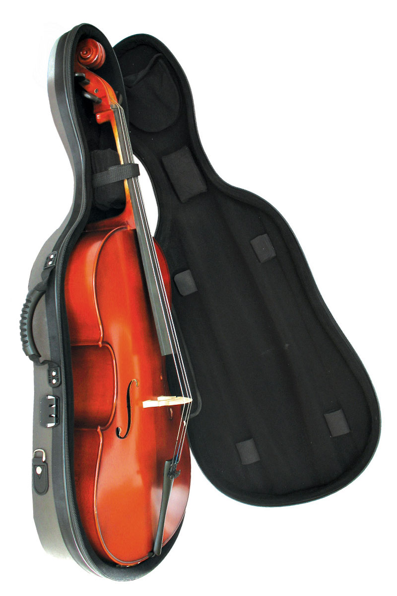 CC010 Semi-Rigid Cello Case (instrument for illustration)