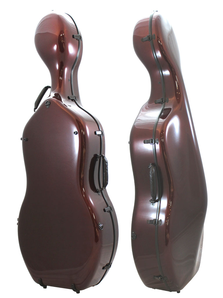 Orchestra Cello Case Red Weave