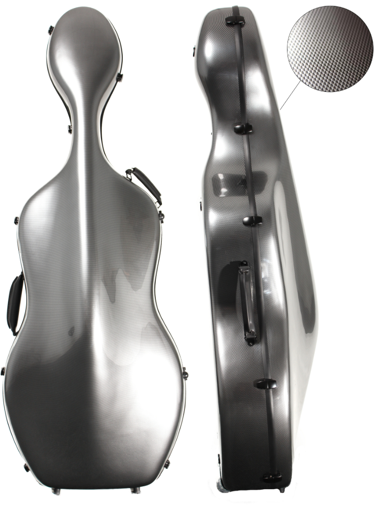 CC160 Young PC Cello Case Silver Weave