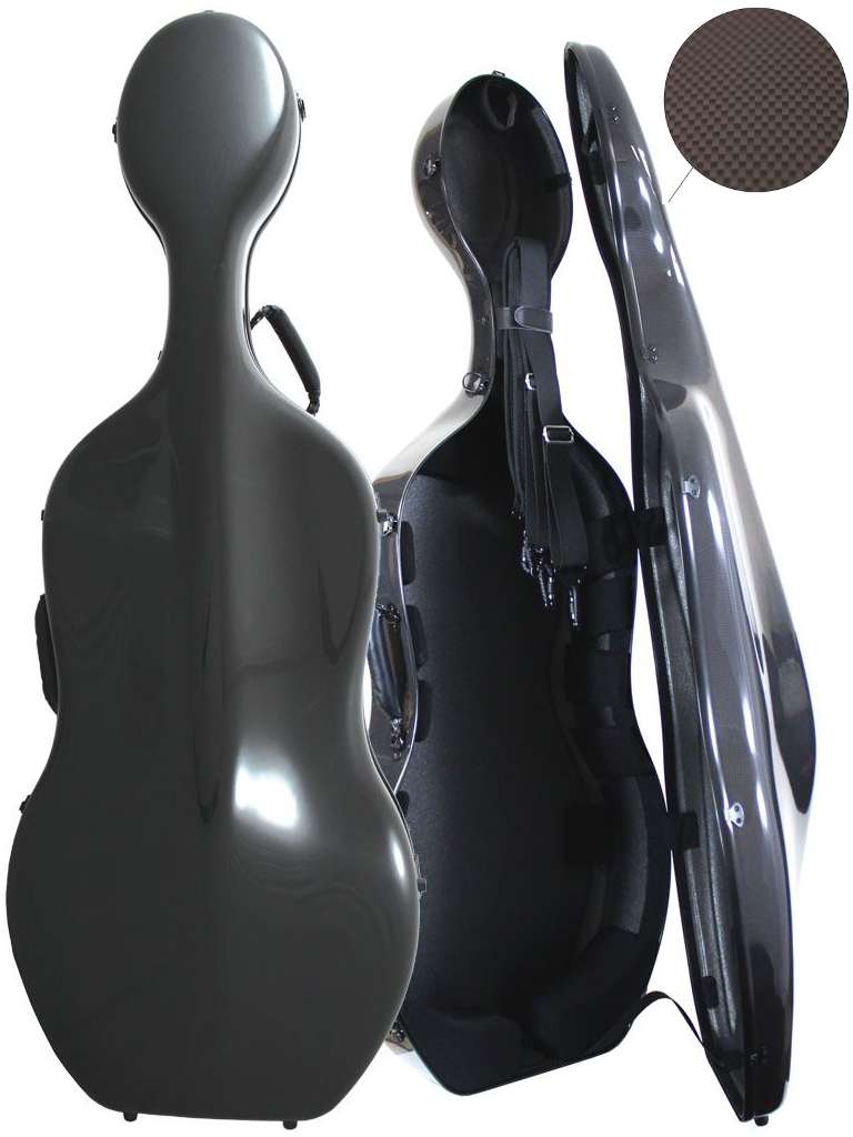 Orchestra Cello Case Dark Anthracite