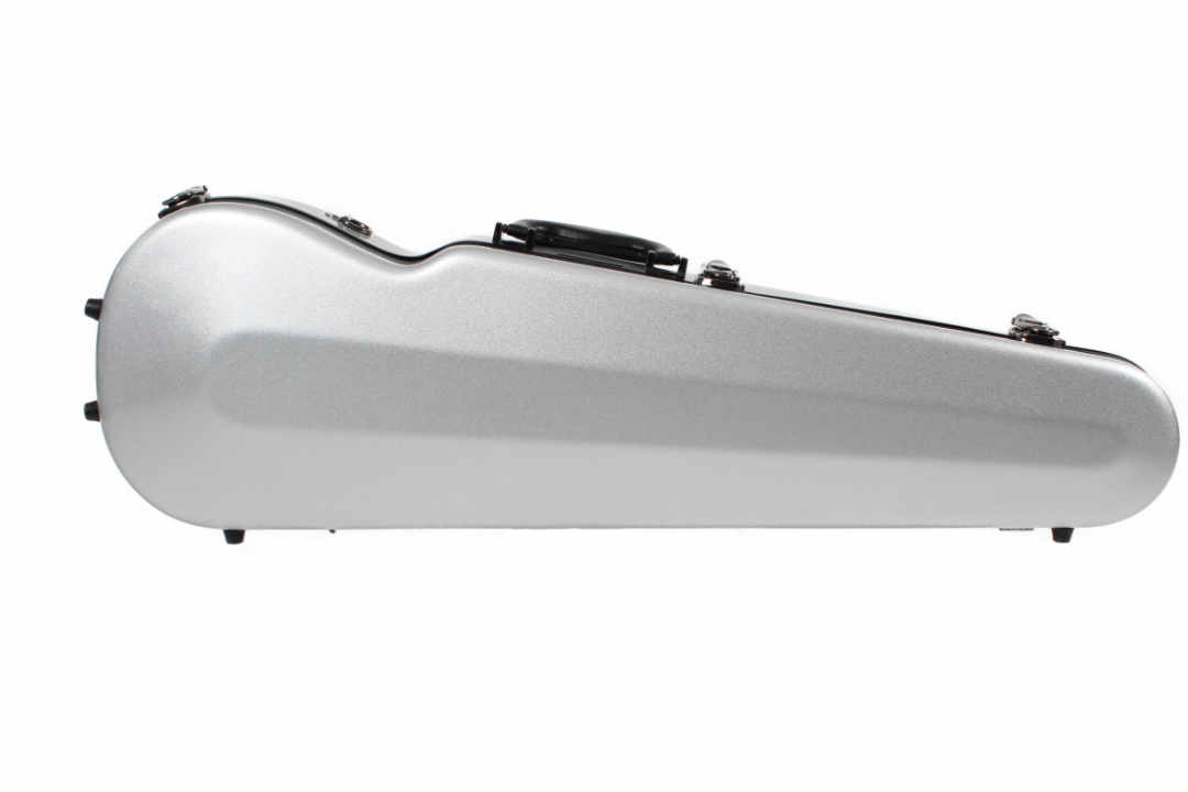 Sinfonica Violin Case Shaped Silver