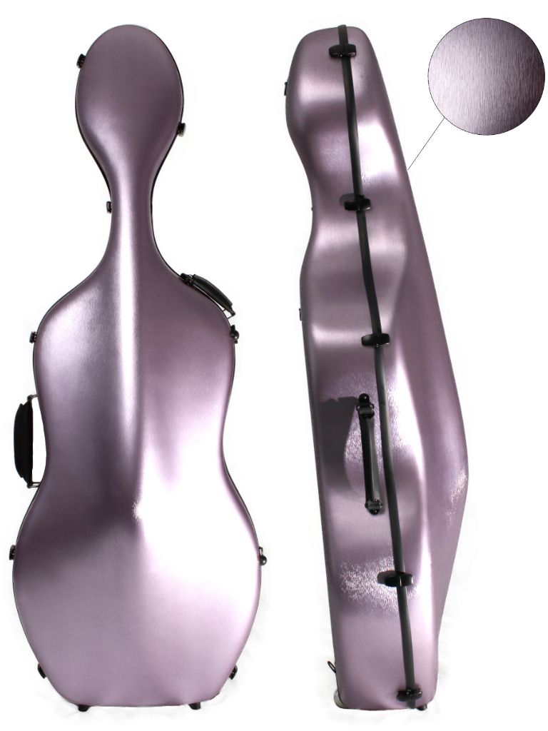 CC165 Young PC Cello Case Brushed Lilac