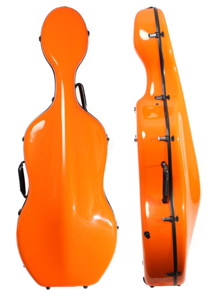 Orchestra Cello Case Orange