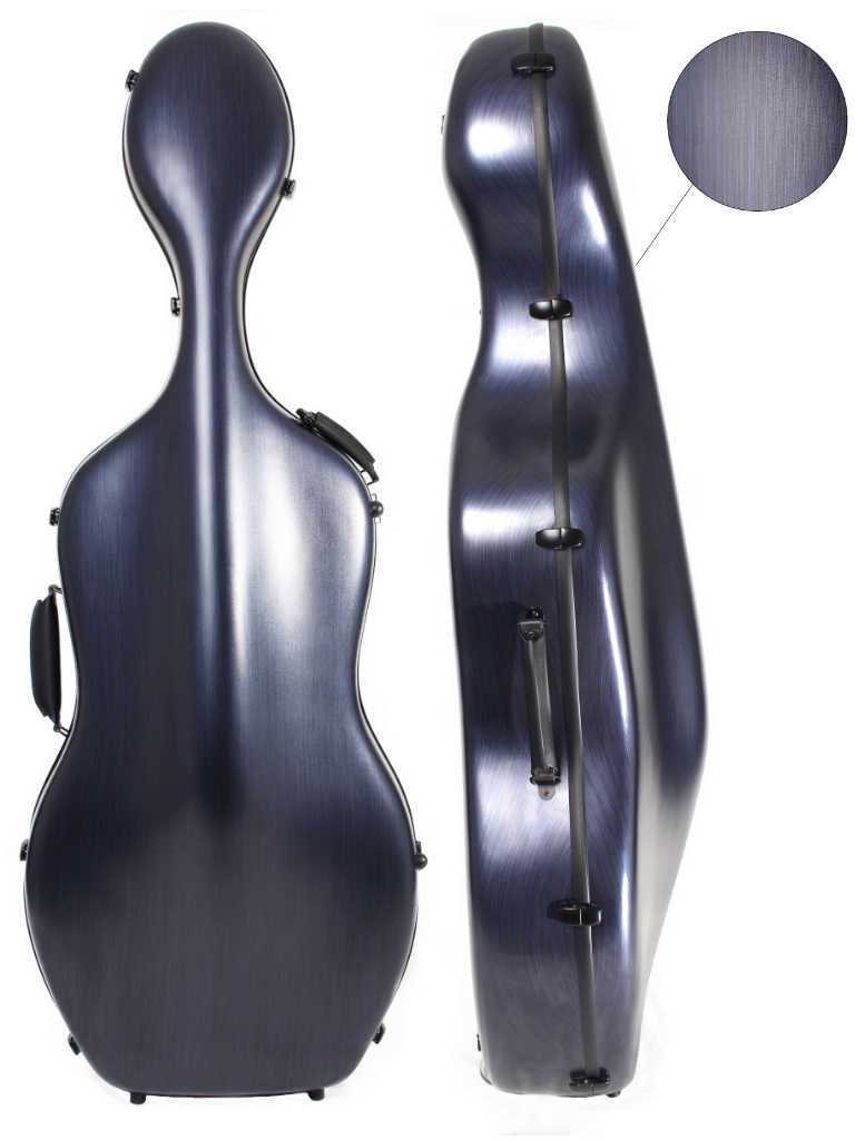 CC161 PC Cello Case Brushed Blue