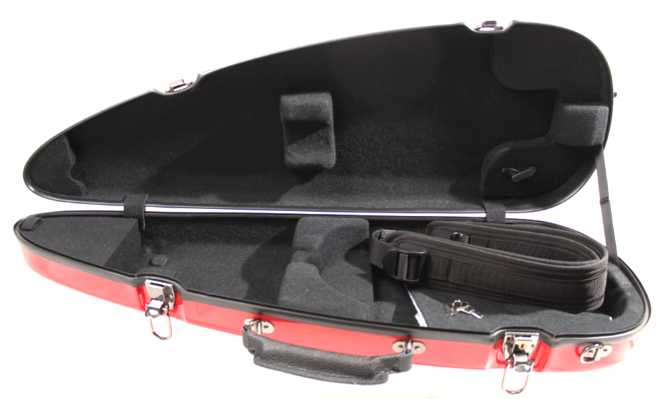 Sinfonica Red Violin Case Interior