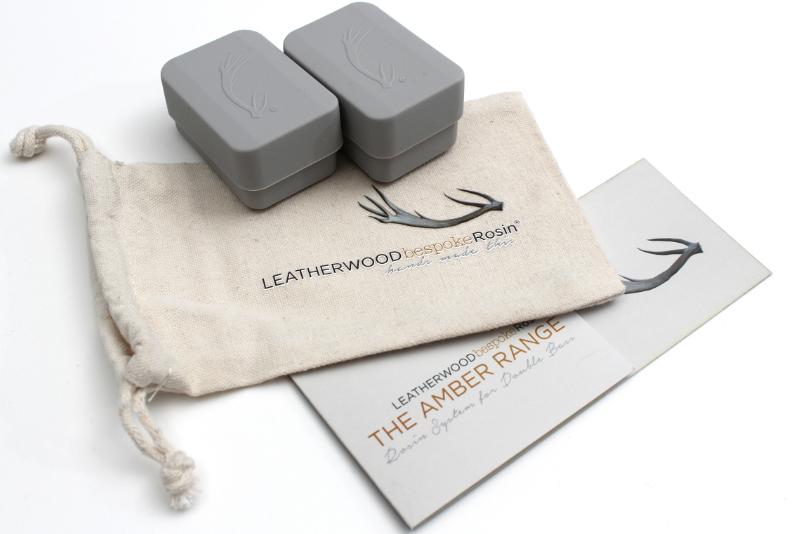 Leatherwood Amber Bass Rosin Handcrafted