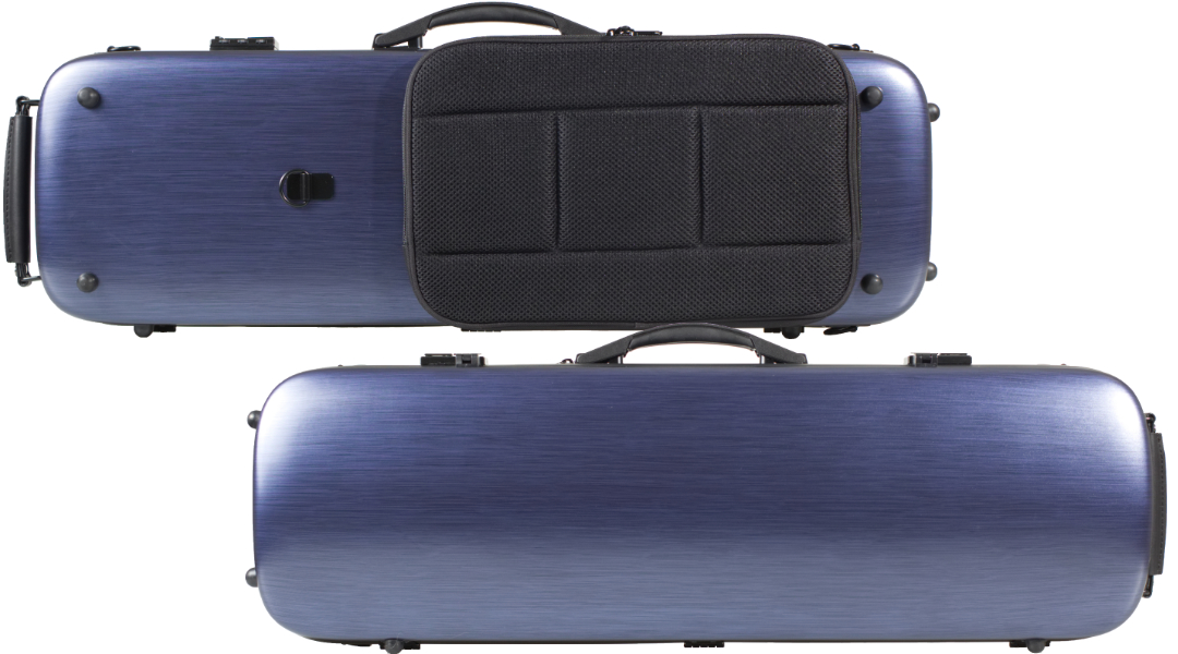 VC161 Brushed Blue PC Violin Case