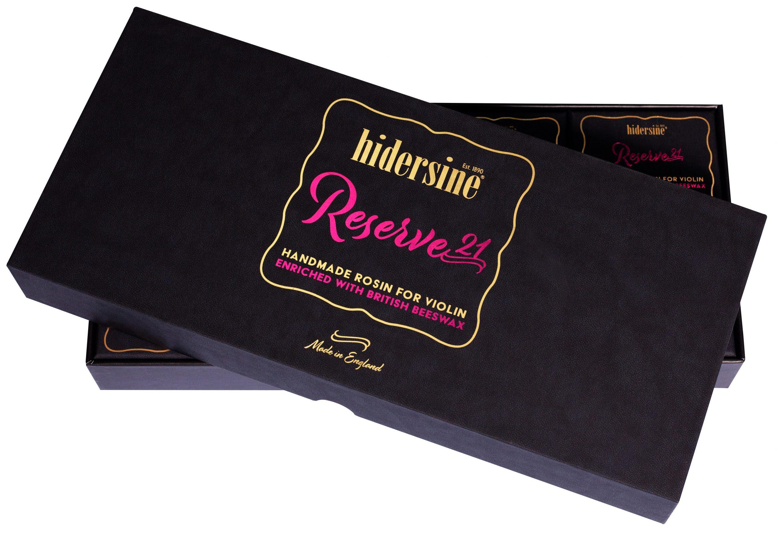 Hidersine Reserve 21 Violin Box of 8